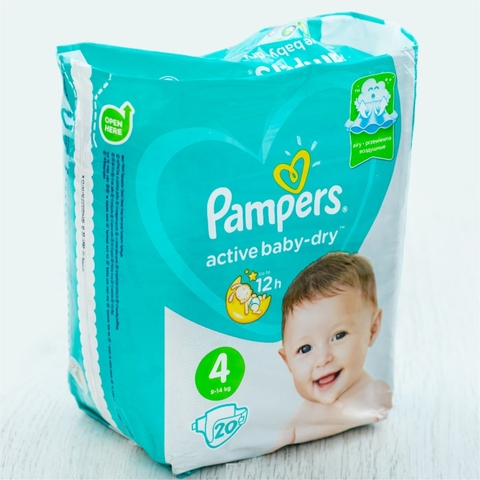 Подгузники PAMPERS Activ Baby S4 20 шт