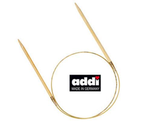 Спицы, бамбук, круговые, №8, 100 см ADDI Германия арт.555-7/8-100