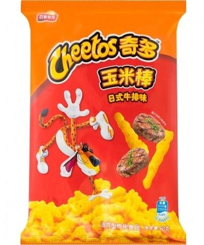 Чипсы Cheetos Crunchy со вкусом говядины