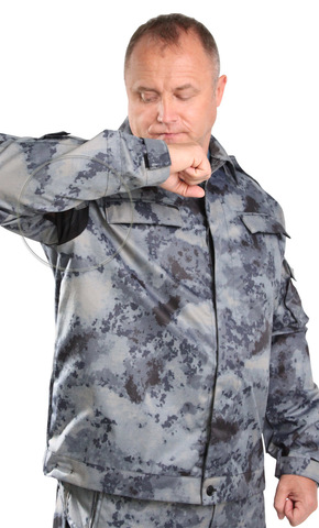 Костюм Спецназ серый Атак