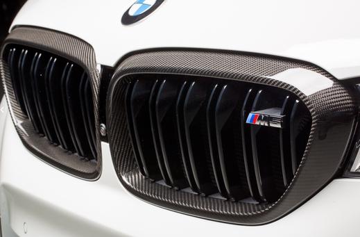 Карбоновые рамки  решетки радиатора  для BMW 5 G30