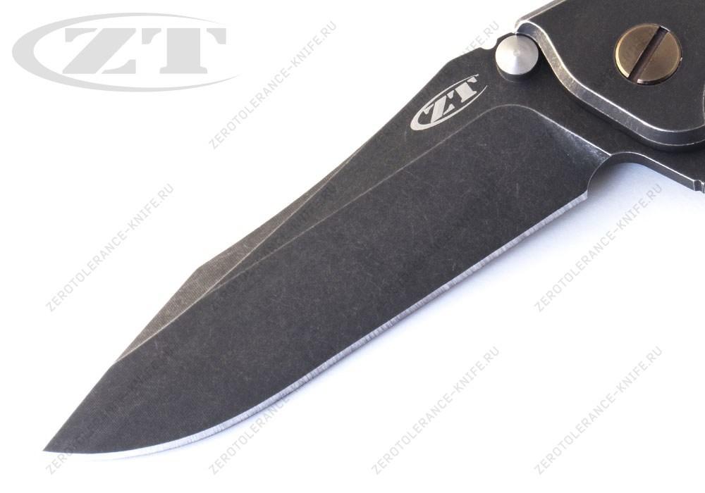 Нож Zero Tolerance 0392BWBRZ Rick Hinderer - фотография
