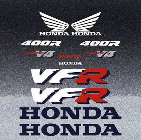 Набор виниловых наклеек на мотоцикл HONDA VFR400R NC30