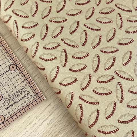 Ткань для пэчворка, хлопок 100% (арт. M0656)