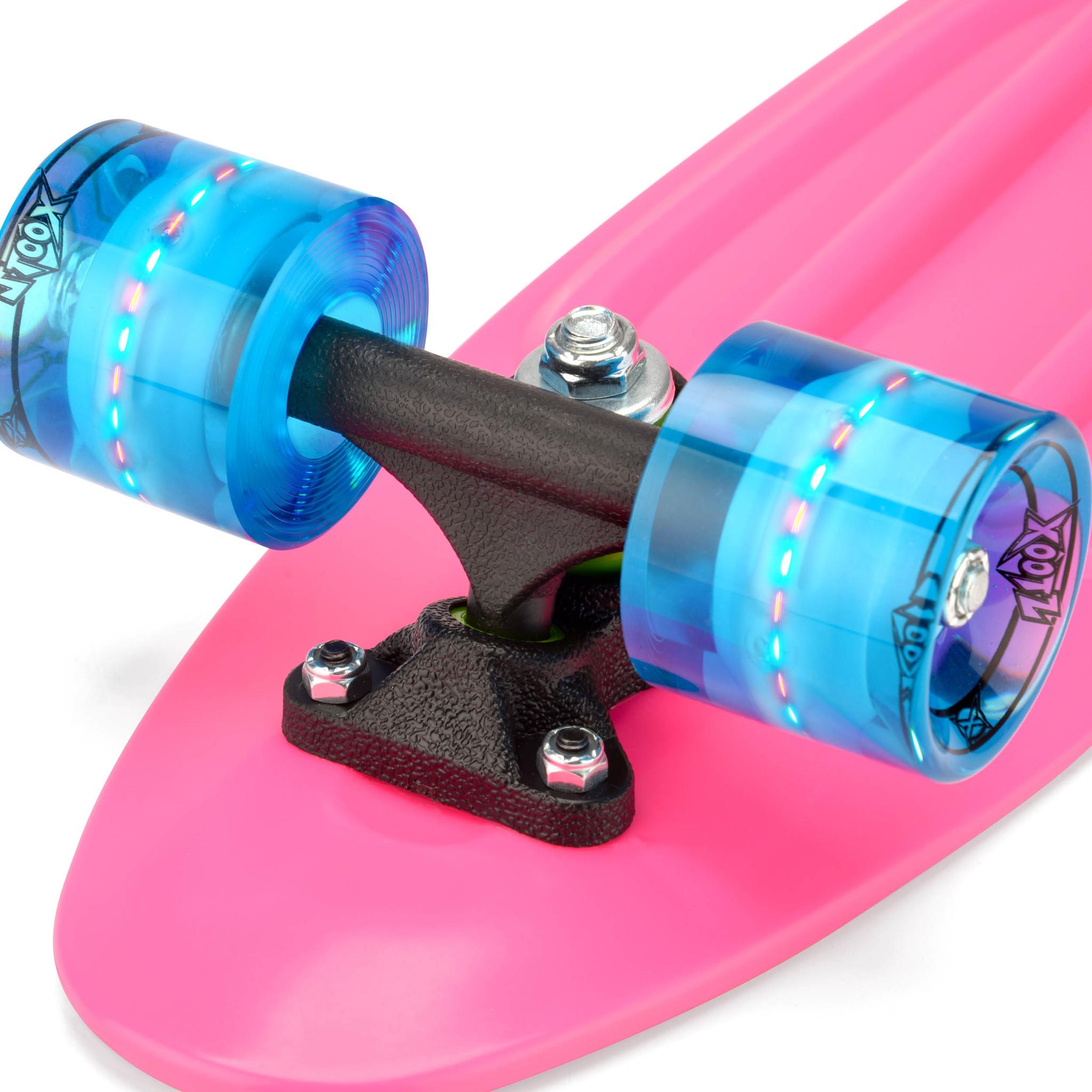 Скейтборд Xootz PP Led 22