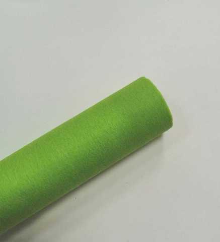 Фетр флористический (50см*12м) Китай цвет светло-зеленый  №039