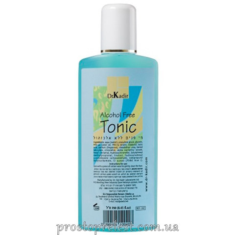 Dr. Kadir Cleaners and Tonic Alcohol Free Cleansing Tonic - Очищуючий тонік без спирту
