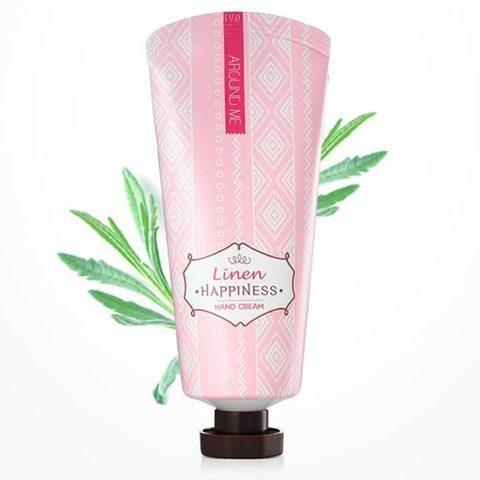 Питательный Крем для рук  Around me Happniness Hand Cream Linen – лён