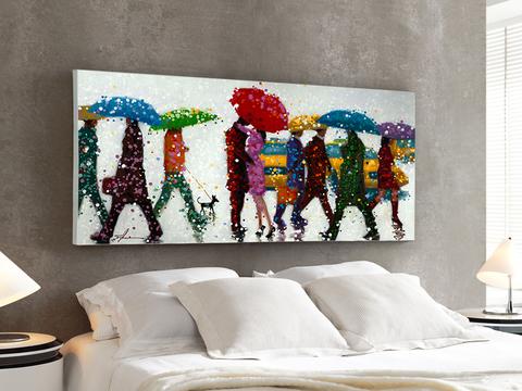 Картина Umbrellas 140x70