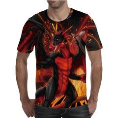 Футболка 3D принт, Дракон (3Д Dragon) 04