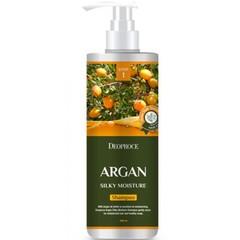 ДП HAIR ARGAN Шампунь для волос с аргановым маслом DEOPROCE SHAMPOO - ARGAN SILKY MOISTURE 1000мл