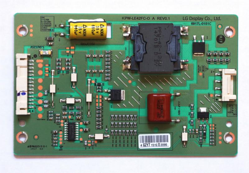 KPW-LE42FC-O A 6917L-0151C Lеd Drive телевизора Philips