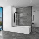 Шторка на ванну RGW SC-09 В 80х150 06110907-14 прозрачное