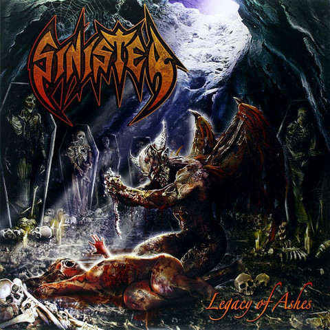 Sinister / Legacy Of Ashes (RU)(CD)
