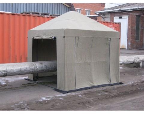 Палатка сварщика 2,5х2,5 (брезент)