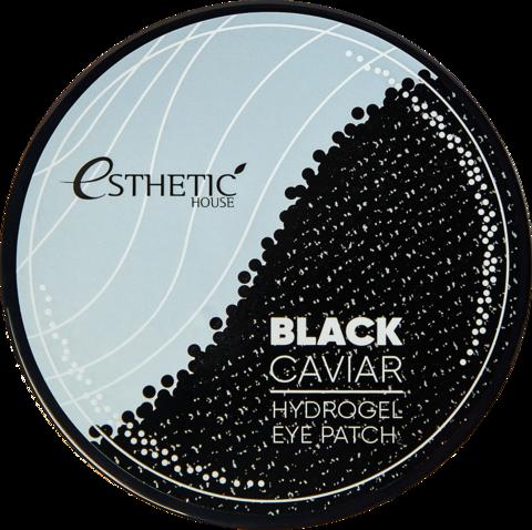 Esthetic House Гидрогелевые патчи для глаз с черной икрой Black Caviar Hydrogel Eye Patch, 60 шт