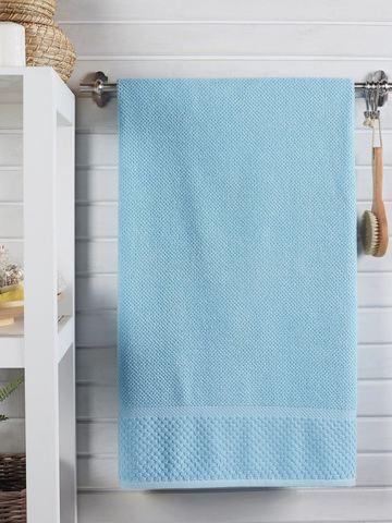 Полотенце DO&CO махровое жаккард 70х140 см SEVAKIN цвет голубой
