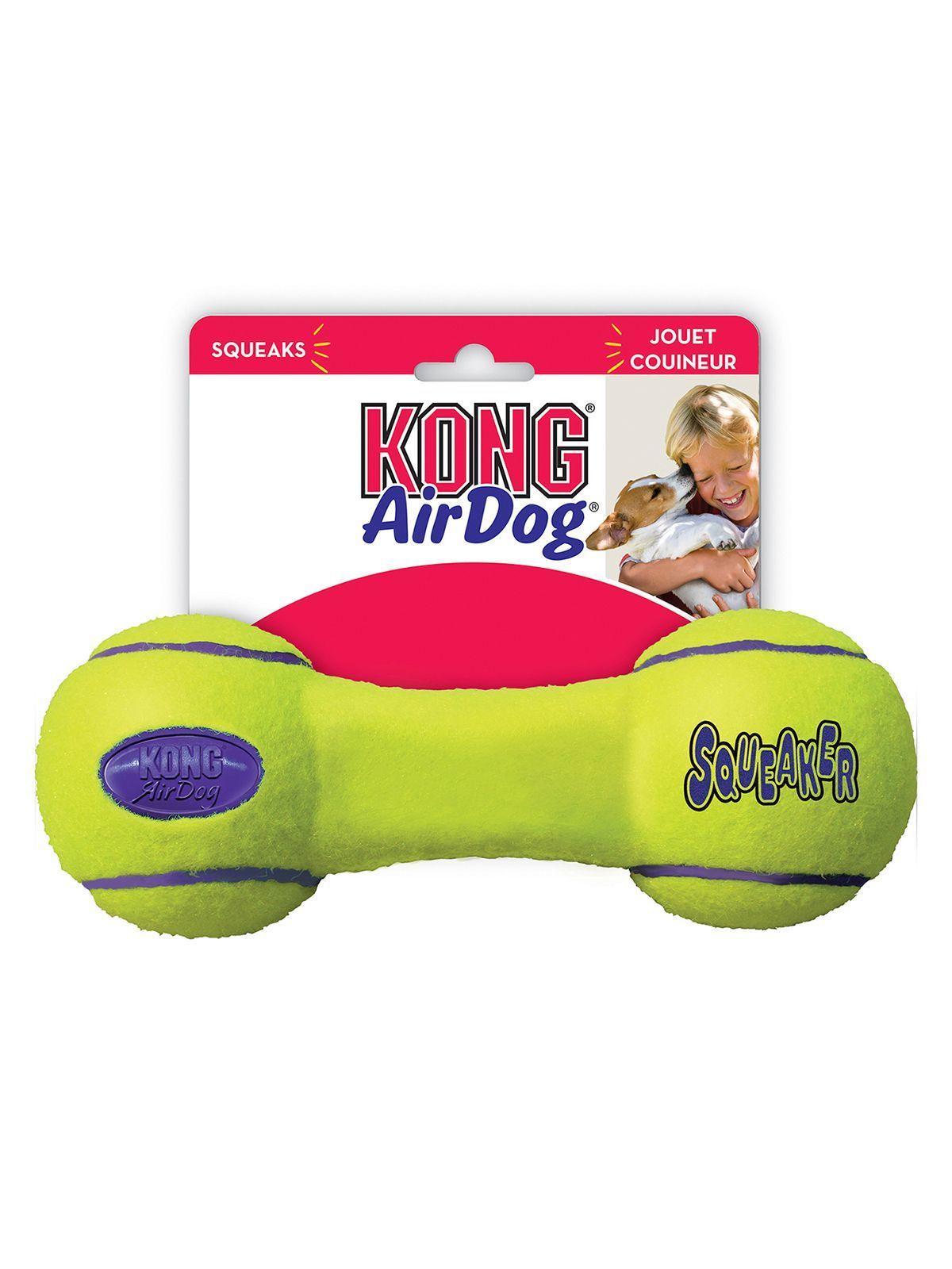 """Игрушки Игрушка для собак KONG Air """"Гантель"""" большая 23 см ASDB1_1.jpeg"""