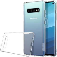 Силиконовый бампер Nillkin Nature TPU Case для Samsung Galaxy S10e (прозрачный)