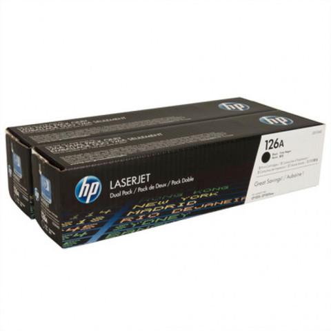 Оригинальный картридж HP CE310AD (№126A), чёрный
