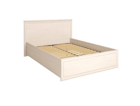 Кровать двойная под ортопедическое основание Венеция 8 Ижмебель 140х200 бодега светлая