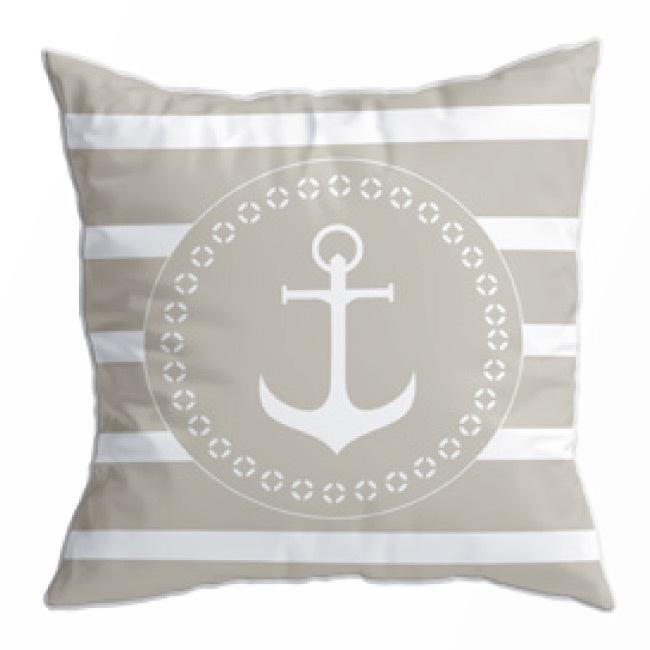 Santorini cushion set / navy beige