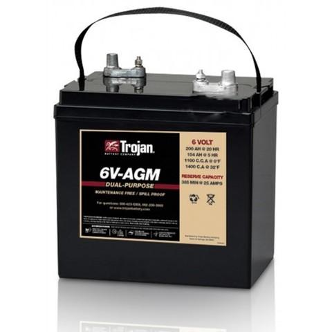 Аккумулятор тяговый Trojan 6V-AGM