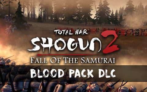 Total War : Shogun 2 - Fall of the Samurai - Blood Pack DLC (для ПК, цифровой ключ)