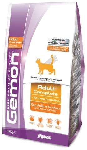 Gemon Cat Adult Chicken & Turkey
