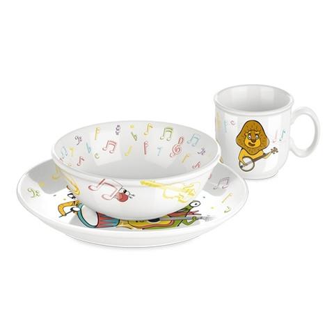 Набор посуды BAMBINI, музыканты, 3 шт
