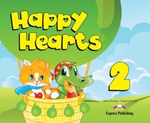 Happy Hearts 2. Pupil's Book (with stickers, press outs & optionals). Учебник (с дополнительными материалами)