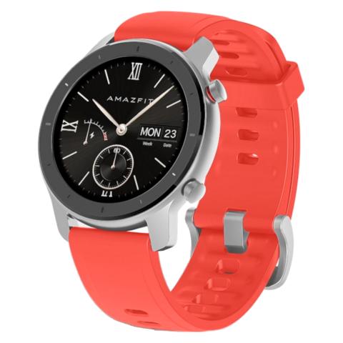 Смарт часы Xiaomi Amazfit GTR 42mm (Coral Red) Красный