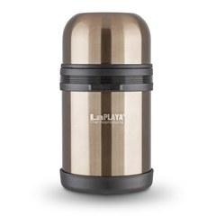 Термос стальной LaPlaya Traditional 0,8L gunmetal (универсальное горло)
