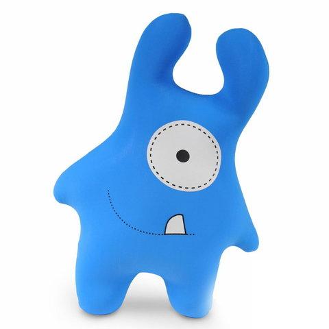 Подушка-игрушка антистресс Gekoko «Монстрик синий»