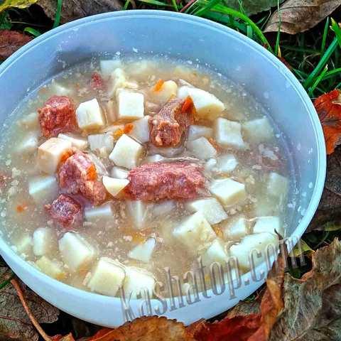 Картофель томлёный с мясом 'Фермер', 300г