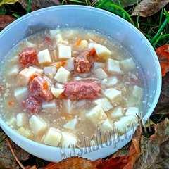 Картофель томлёный с мясом 'Фермер', готовое блюдо