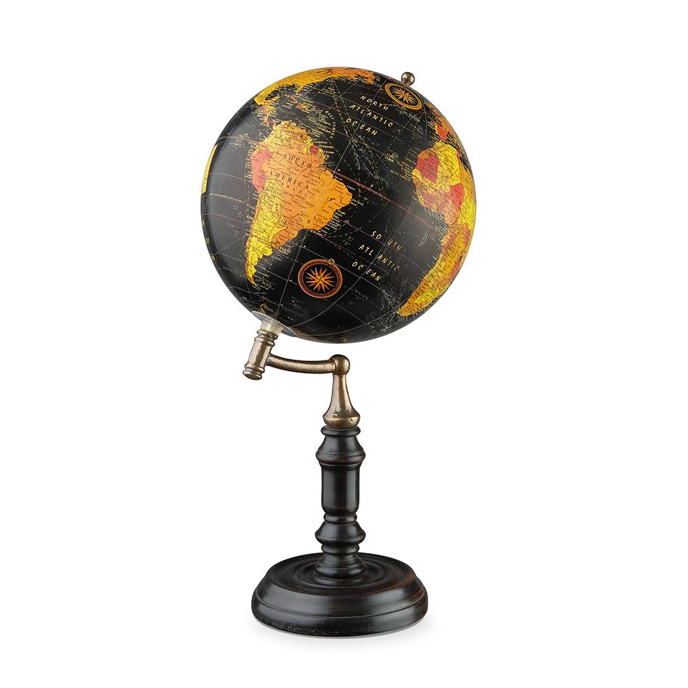Глобус в ретро стиле