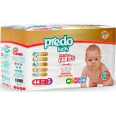 Predo. Подгузники-трусики Baby № 3 (4-9 кг Midi), 44 шт.