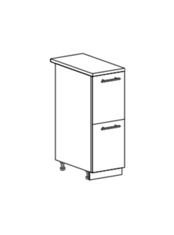 Шкаф нижний с 2 ящиками 300