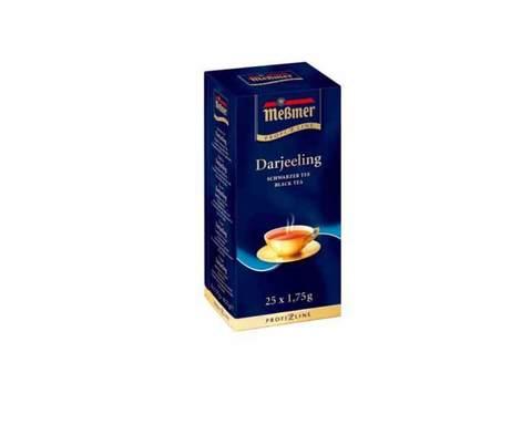 Чай черный в пакетиках Messmer Дарджилинг, 25 пак/уп, 1,75 г