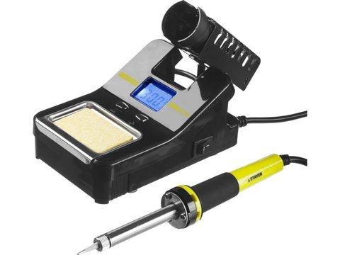 STAYER SP-50 цифровая паяльная станция, 160-520°C, 48 Вт