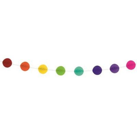 Гирлянда-шары бум радужная 3м/G