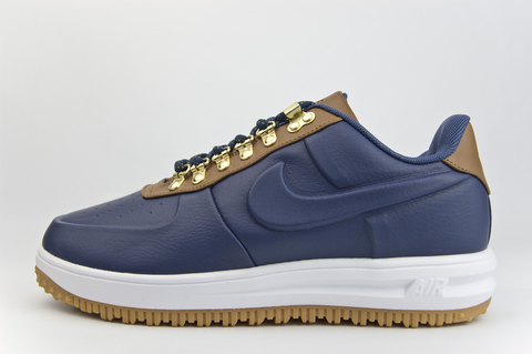 кроссовки Nike Lunar Force 1 Duckboot Low Blue / Brown