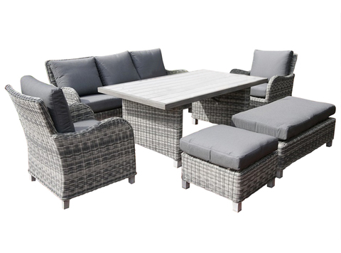 Комплект мебели из искусственного ротанга Ницца