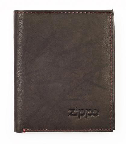 Вертикальное кожаное портмоне ZIPPO 2005121