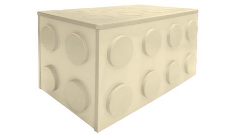 Ящик для игрушек на колесиках