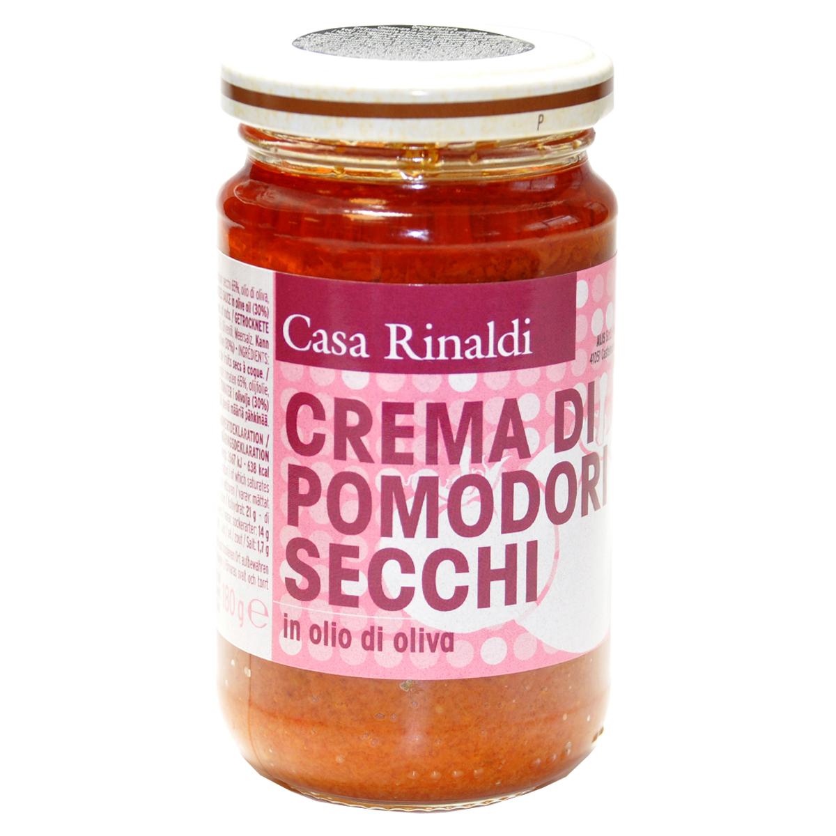 Крем-паста из вяленых помидоров в оливковом масле Casa Rinaldi 180 гр