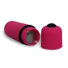 Вибропуля розовая (силикон)
