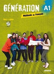 Generation A1 - Livre + cahier + CD mp3 + DVD