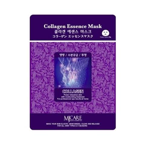 Mijin Essence Маска тканевая с коллагеном Collagen Essence Mask, 1 шт